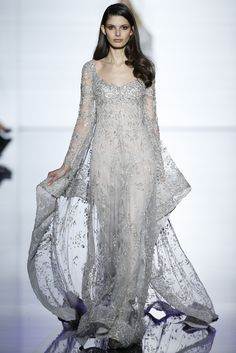 Zuhair Murad Couture Spring 2015 - Slideshow - Runway, Fashion Week, Fashion Shows, Reviews and Fashion Images - WWD.com