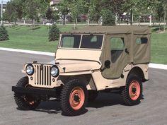 1946 Willys-Overland Jeep CJ-2A