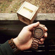 Relógio de Madeira. Macho Moda - Blog de Moda Masculina: WeWood: Relógios Masculinos de Madeira - #Conheça. Wewood, Relógio de Madeira Masculino.