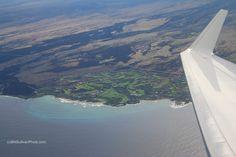 North Kona Resorts from the air, Big Island, Hawaii - photo by B N Sullivan