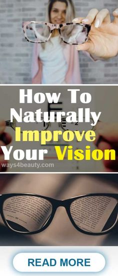 How To Naturally Improve Your Vision – Ways For Beauty care dark circles care logo care skin care tips care vision Natural Remedies For Allergies, Natural Remedies For Arthritis, Natural Headache Remedies, Natural Remedies For Anxiety, Anxiety Remedies, Sleep Remedies, Holistic Remedies, Natural Health Remedies, Cold Remedies
