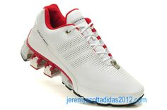 Adidas Porsche Design Sport Men's BOUNCE: S L Running Shoes 2012 (White Red Titanium)