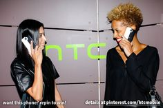 Repin for a chance to win your very own HTC One by Cushnie et Ochs! Find out how at blog.htc.com/... #NYFW #HTCMADE #Giveaway