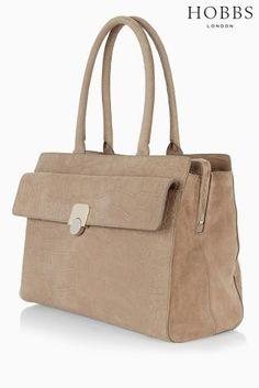 Buy Hobbs Mink Mock Croc Pimlico Work Bag from the Next UK online shop d24cab9460fd8