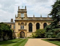 Trinity College, Oxford. The Chapel, (1694) designed in part by Christopher Wren.
