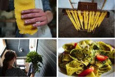 Making homemade pasta can be easier than you might think. Discover the joy of natural food! http://on.fb.me/1xN3VkJ