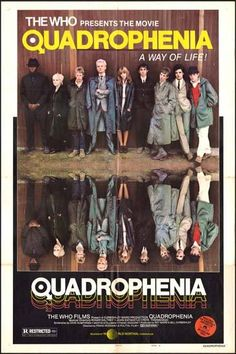 1979 british film, loosely based around the 1973 rock opera of the same name by the who. directed by franc roddam Keith Moon, Garry Cooper, Requiem For A Dream, Pete Townshend, Internet Movies, Great Films, Classic Films, Film Posters, Cinema Posters