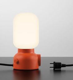 Plug Lamp Designed by Form Us With Love For ateljé Lyktan