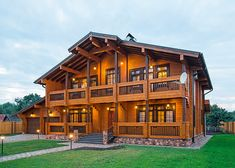 Дом из клееного бруса от компании «ТАМАК» | Дома из клееного бруса | Журнал «Деревянные дома»