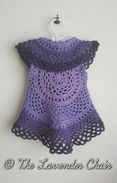 Ring Around the Rosie Child Vest - Free Crochet Pattern - The Lavender Chair 2