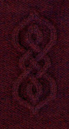 From Susan - Love Among the Runes - theraineysisters theraineysisters Cable Knitting Patterns, Knitting Stiches, Knitting Charts, Knit Stitches, Knitting Machine, Free Knitting, Crochet Patterns, Marsala, Viking Writing