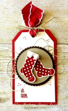 Hang Your Stocking Gift Tags |