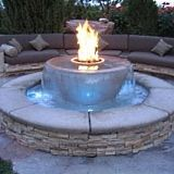 How cool is this!  fire pit designs