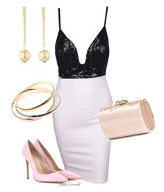 """""""dress1791"""" by k-meszaros on Polyvore featuring Jimmy Choo, Gianvito Rossi, Kenneth Jay Lane and Cartier"""