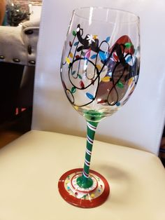 Painted Wine Glasses, Tableware, Painting, Dinnerware, Dishes, Painting Art, Paintings, Drawings