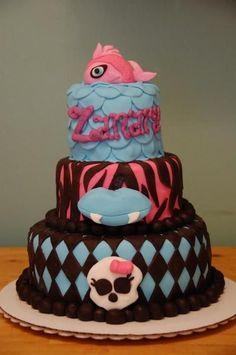 lagoona blue monster high cake