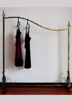 Vendimia percheros para colgar la ropa de forja metal - Perchero maniqui ...