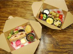 Boxed Lunches that hit the spot. Snack Box, Lunch Box, Snack Recipes, Snacks, Bento Box, Lunch Ideas, Lunches, Catering, Baby Shower