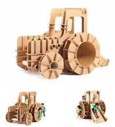 A New Brand of Cardboard Kids Furniture – neofundi
