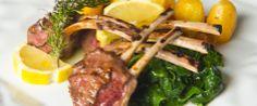 Lamb chops with greens and rosemary @OConvite Restaurant in www.hoteldg.com #Food #Restaurant #Fatima #Portugal http://www.hoteldg.com/en/restaurant