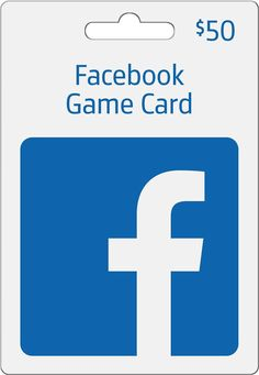 Facebook - $50 Facebook Game Card