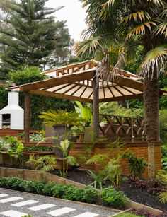 Why go on holiday when your garden – in busy old Auckland – is a Balinese retreat built to capture all-day sun?