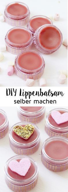 Make DIY lip balm from shea butter yourself: great gifts DIY Lippenbalsam aus Sheabutter selber machen: Tolle Geschenkidee! Make DIY lip balm from shea butter yourself: great gift idea! Diy Crafts To Do At Home, Diy And Crafts, Beauty Tips For Face, Beauty Hacks, Beauty Care, Face Tips, Diy Beauty Day, Diy Gifts, Great Gifts