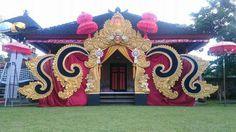 Wedding Decorations Pictures, Diwali Decorations, Indian Wedding Decorations, Flower Decorations, Wedding Pillars, Wedding Gate, Mandir Decoration, Ganapati Decoration, Wedding Backdrop Design