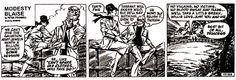 Modesty Blaise: The final daily strip - da: Cobra Trap. Come muoiono gli eroi /4 (finale)