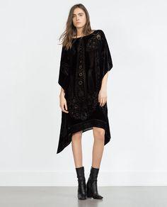VELVET KAFTAN from Zara