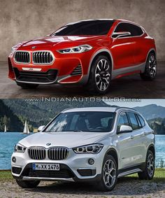 BMW X2 vs. BMW X1 - In Images