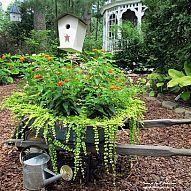 Our Fairfield Home & Garden's Most Popular Posts of 2012 . Click on the picture to see all six garden projects. (Garden of Len & Barb Rosen)