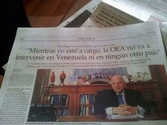 La OEA se mantiene silenciosa ante situación en Venezuela. #SOSvenezuela