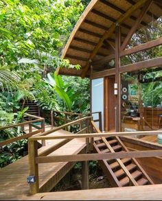 This treehouse in Brazil is available to rent through Airbnb. Click for details and more pictures of stunning rentals, including castles in France and a private island just for you.