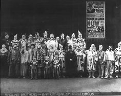 CLOWN ALLEY: Ringling Bros. and Barnum & Bailey (Circa 1920s)