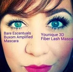 Younique Fiber Mascara gives you the falsie effect without the glue or lash damage! & No need for expensive extensions! Make the switch to Younique today! I'll answer any questions you may have! 3d Mascara, 3d Fiber Lashes, 3d Fiber Lash Mascara, Best Mascara, Mascara Tips, How To Apply Mascara, Applying Mascara, Best Lashes, Makeup For Teens