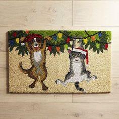 Hang in There Dog & Cat Doormat