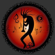 Kokopelli- MusicArtLoveFreedom by ~scart