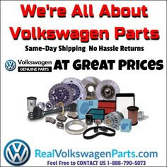 REAL #Volkswagen #Parts Same-Day Shipping No Hassle Returns Great Service at a Great Price http://www.realvolkswagenparts.com/