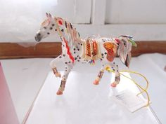 NIB The Trail of Painted Ponies Horse Ornament Copper Enchantment Westland