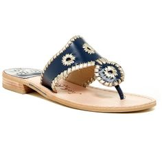 Jack Rogers Palm Beach Platinum Sandal ($80) ❤ liked on Polyvore featuring shoes, sandals, stacked heel sandals, palm beach sandals, strap shoes, low heel sandals and woven sandals
