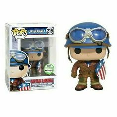 From Marvel it's Captain America First Avenger in Funko Pop form! Funk Pop, Funko Pop Marvel, Marvel Pop Vinyl, Funko Figures, Vinyl Figures, Action Figures, Univers Marvel, Captain Marvel, Marvel Avengers
