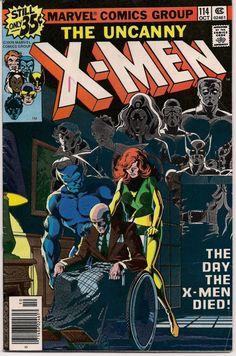 XMEN #114 Bronze Age Comics 1978 JOHN BYRNE Chris Claremont X-Men series Phoenix Wolverine Storm Nightcrawler Colossus
