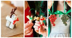 Our favorite DIY Christmas Ornaments