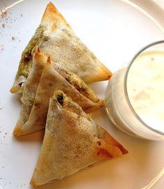 [RECETTE #1] Samossas de légumes au tandoori - Produit Patak's associé : Pâtes de Curry Tandoori