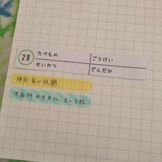 いつもの家計簿…めくると。 (1枚目の写真) * 左側は14日になるまでは、まだ白紙。 (2枚目の写真) * カンミ堂さんから発売されている、ペントネと。 新しく仲間入りした、ココフセン。 これらを使ってね。 (3枚目の写真) * かなえたいコトと、ほしいものなどを書いてみたのだ。 やっぱり書いてみると頑張れたりするもんね。 あんまり大きなコトじゃなく、今月実行できるコトを書くんだ。 (4枚目の写真) * もし、実現できたら、そのままココフセンを、家計簿に貼ると決めてるの。 家計簿を見た時に、実現出来たんだなぁっと、きっと嬉しく思っちゃうんだろうな。 (5枚目の写真) * 子供達が楽しみにしている、焼き肉食べ放題! 絶対に春休みに実現するのだ!! * #ノート#家計簿#家計管理#バインダー#ルーズリーフ#方眼 #付箋#ふせん#ふせんノート #ゆめふせん#かなえるふせん #ペントネ#ココフセン#カンミ堂#フィルムふせん #日付メモ#エクセル