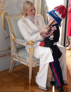 The Principality of Monaco Celebrates National Day 2019 Royal News, Royal Family News, Monaco Royal Family, Royal Families, Princess Stephanie, Princess Estelle, Crown Princess Victoria, Fürstin Charlene, Princesa Charlene
