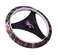 Browning Neoprene Steering Wheel Cover in Mossy Oak Break-Up Camouflage