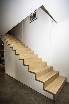 Stairs by David Jarvis, via Behance