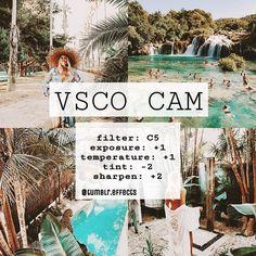 Filter • Tutorials VSCO tutorial